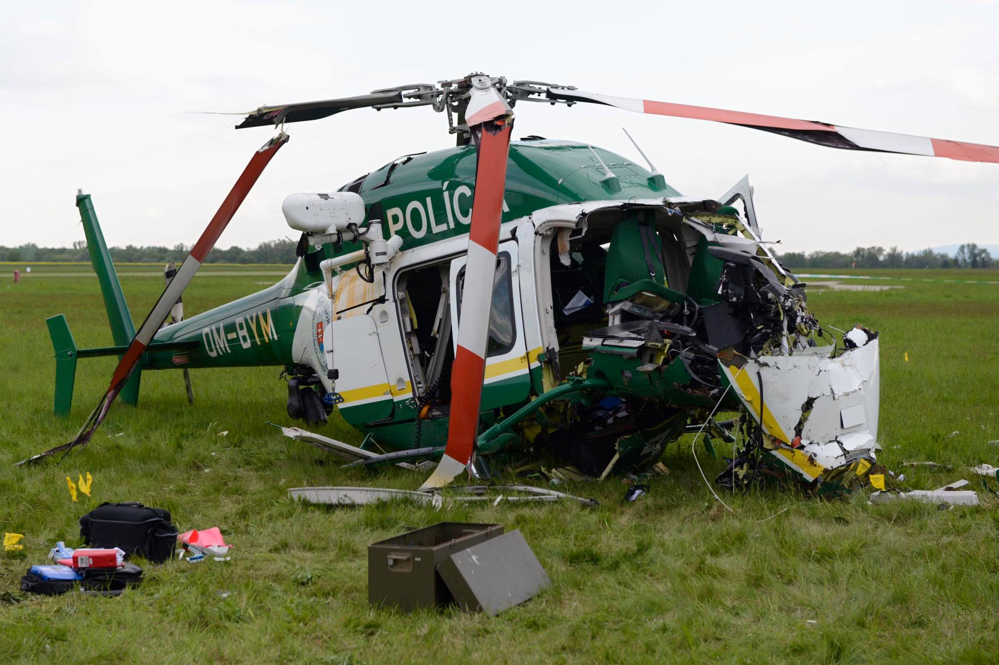 OM-BYM Bell 429 crash