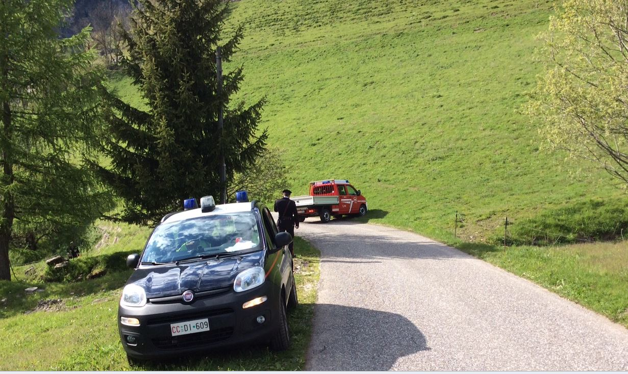 Ultralight helicopter crash Val Pusteria