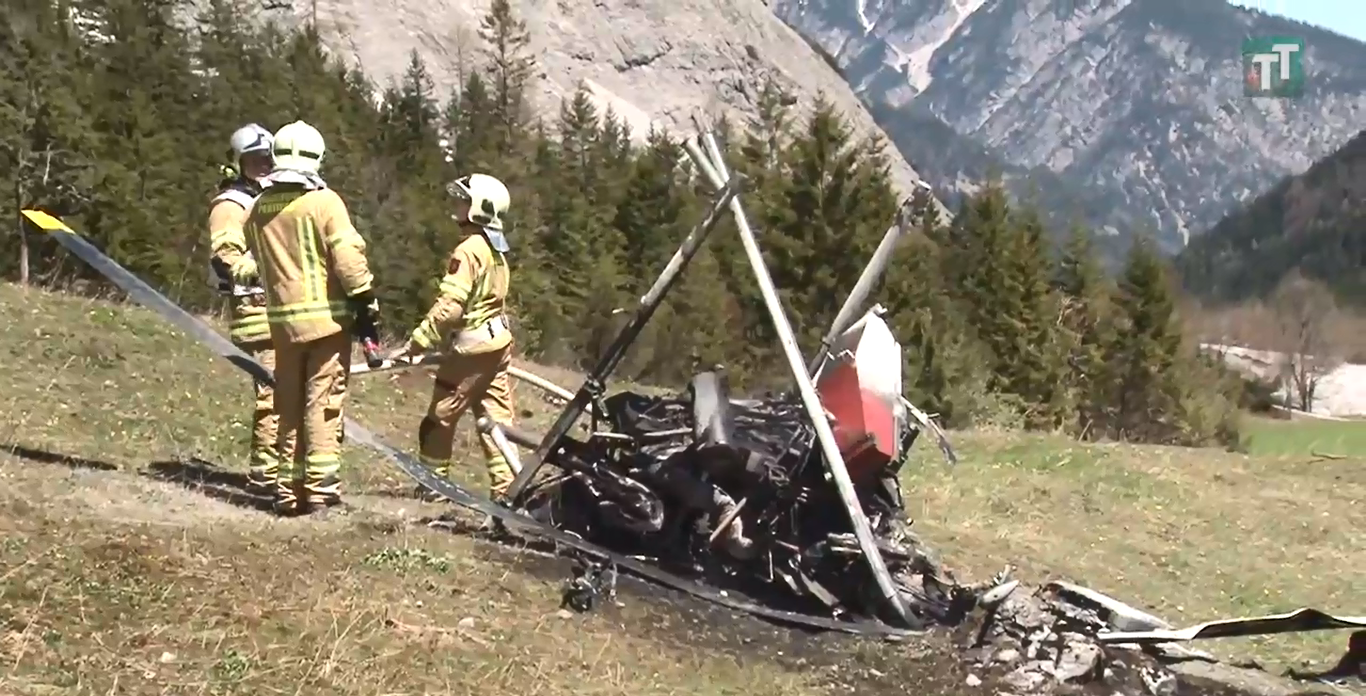 Bell 47 crash Pertisau